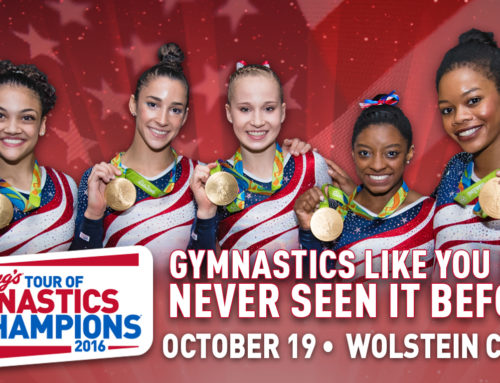 Full Cast Announced for Kellogg's Tour of Gymnastics Champions