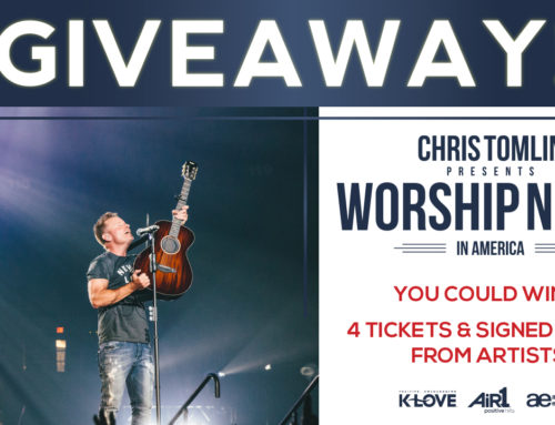 Chris Tomlin Grand Prize Giveaway