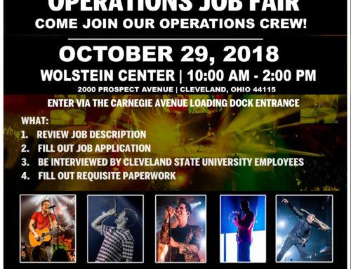 Fall Operations Job Fair 2018