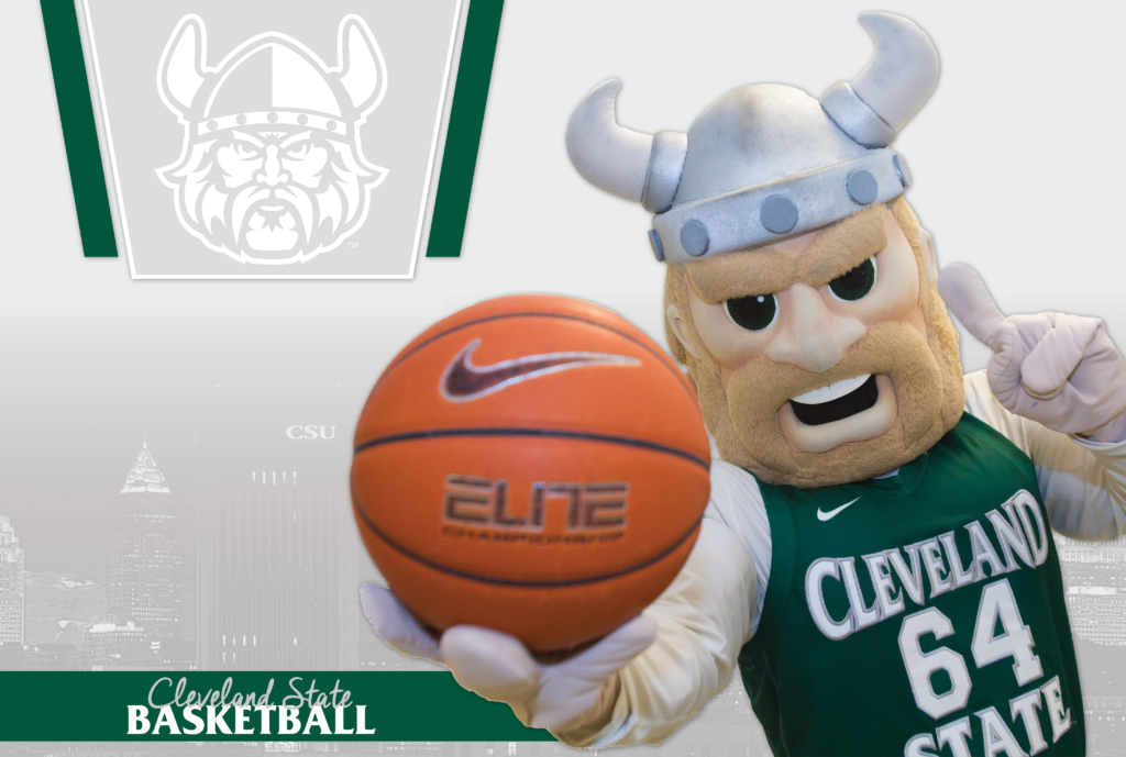 Cleveland State Basketball Graphic
