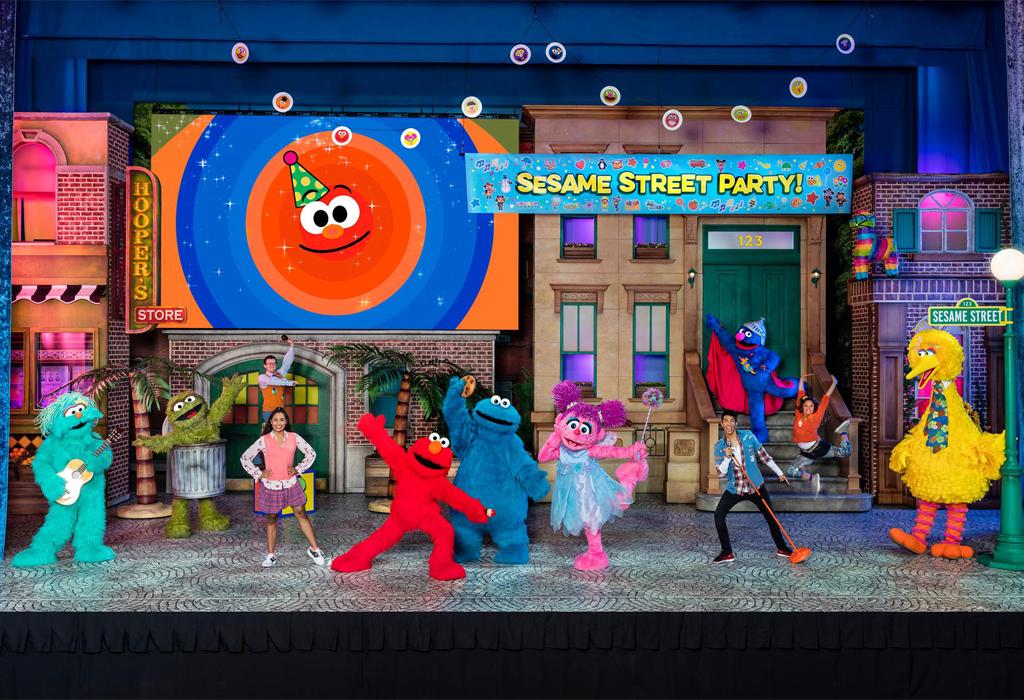 Sesame Street Live Photo